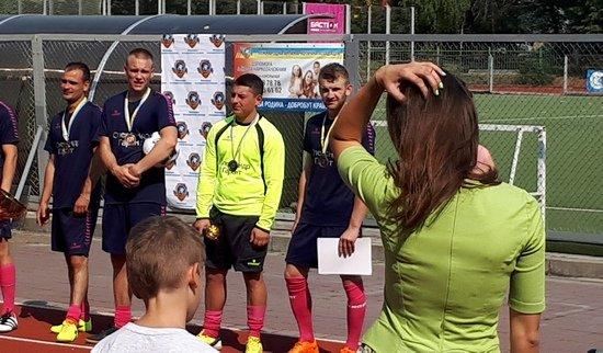 турнир по мини-футболу в Виннице
